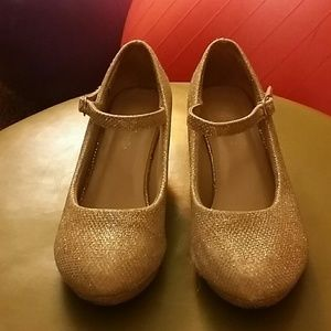 Girls Link dress shoes w/heel